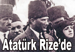 Atatürk 1923de Rizeli oldu!