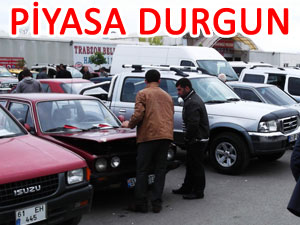 İnternet, Trabzon 2. el oto pazarını da vurdu!